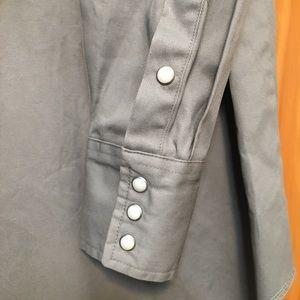 Wrangler Shirts - Wrangler Heavyweight 100% Cotton Pearl Snap Shirt